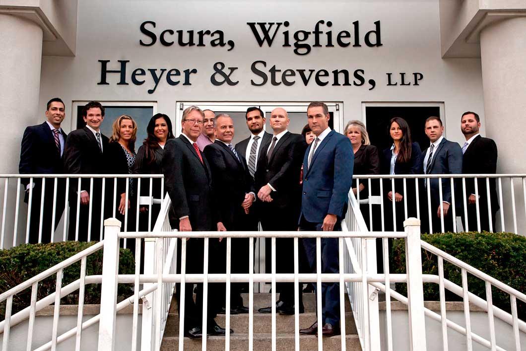 Attorneys at Scura, Wigfield, Heyer & Stevens, LLP