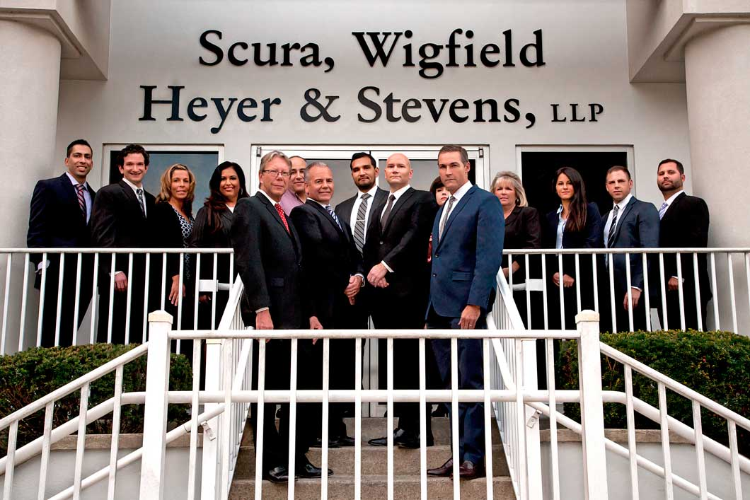 Attorneys at Scura, Wigfield, Heyer & Stevens, LLP